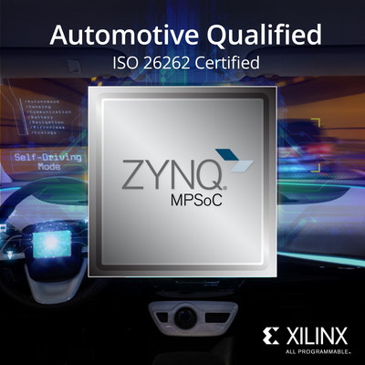 Xilinx Announces Availability of Automotive Qualified Zynq