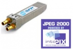 Embrionix to bring the world's first JPEG 2000 SFP module powered by intoPIX technology at NAB 2015.