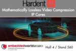 New Mathematically Lossless Video Compression IP Cores Announced by Hardent